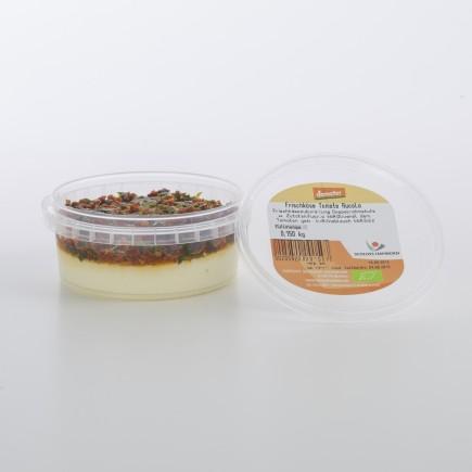 Bio-Frischkäsezubereitung Tomate-Rucola
