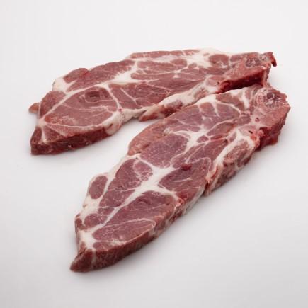 Nackenkotelett  vom Schwein