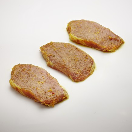 Rückensteak in Curry-Marinade - 2er Pack