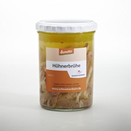 Hühnerbrühe m. Fleisch