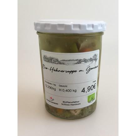 Bio-Hühnersuppe m. Gemüse
