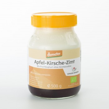 Fruchtjoghurt Apfel-Kirsche-Zimt