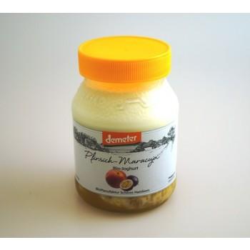 Fruchtjoghurt Pfirsich-Maracuja