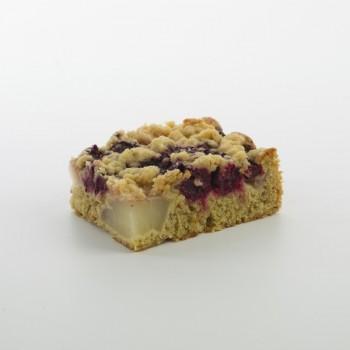 Kirsch-Birne-Streuselkuchen