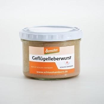 Bio - Geflügelleberwurst