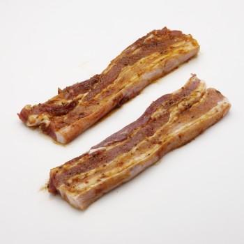 Bauchfleisch in Scheiben - mariniert